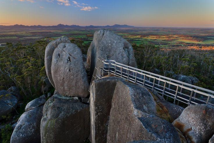 Porongurup Range lookout, near Albany, Western Australia
