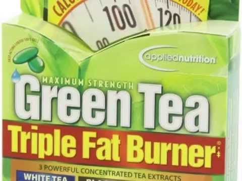 Applied Nutrition Green Tea Fat Burner 400 Liquid Soft-Gels - Applied-th... Green Tea Fat Burner maximizes powerful thermogenic action in fastrelease Liquid SoftGels. This product has been formulated to provide a highly concentrated form of Green Tea extract combined with caffeine that while not literally melting fat off the body is shown to: Increase calorie burning (thermogenesis) and kickstart your fat burning (fat oxidation) ability.