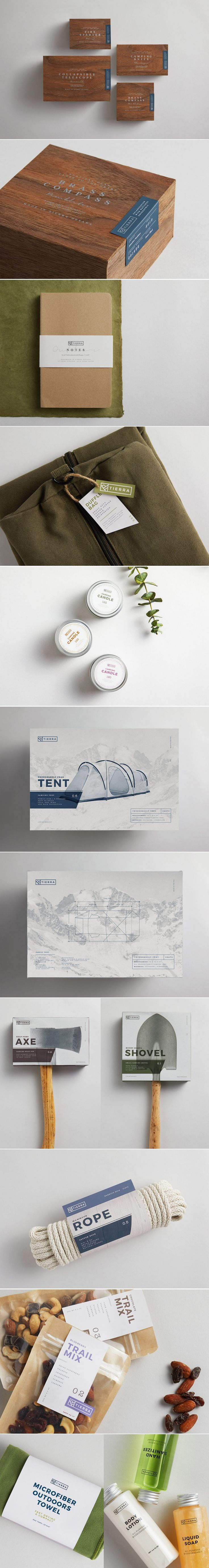 Tierra is a Conceptual Brand Inspired By The Great Outdoors — The Dieline | Packaging & Branding Design & Innovation News