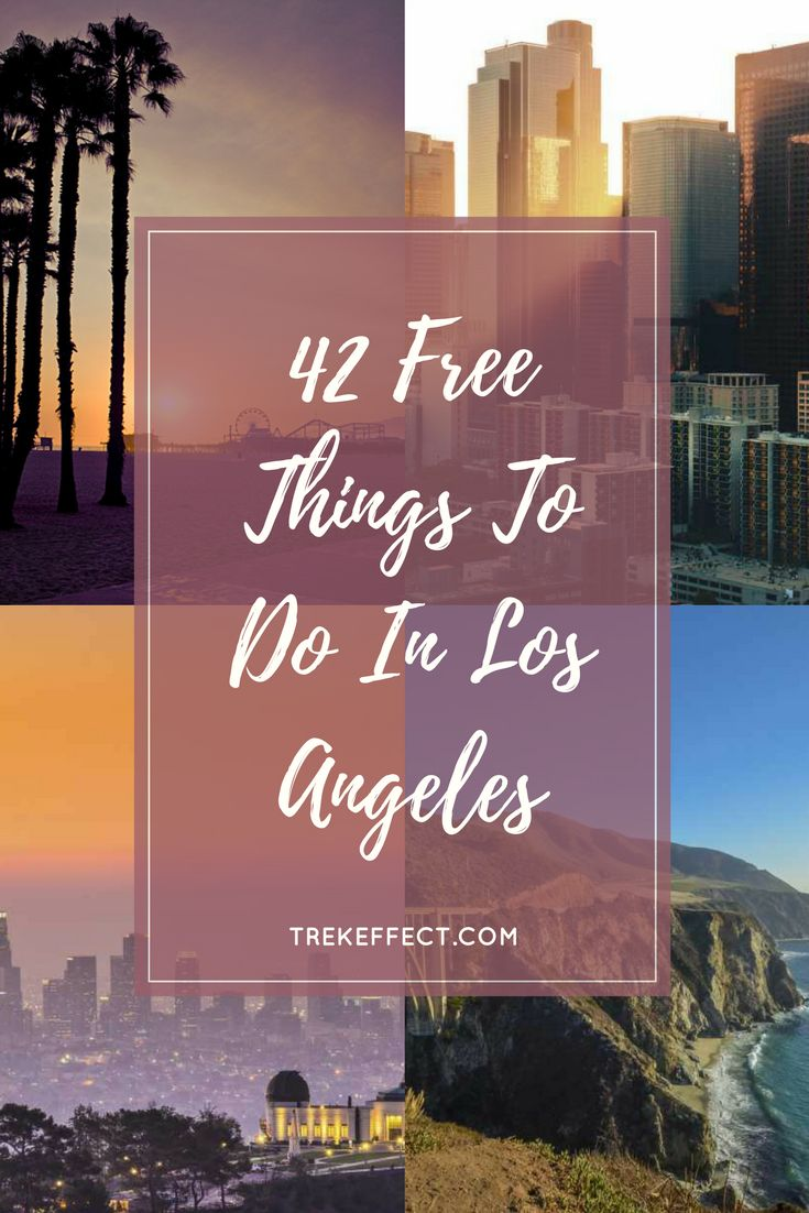Wondering where to go in Los Angeles , when you're short on budget? Here's a list of the best Los Angeles attractions that you can enjoy without spending a dime. Once you've landed on a Los Angeles airport, grab a map, and spot these amazing sites and experiences.