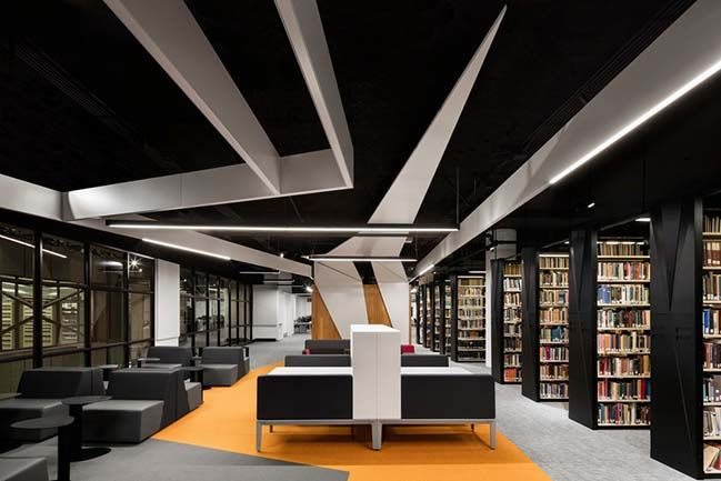 Concordia University S New Webster Library In Montreal With