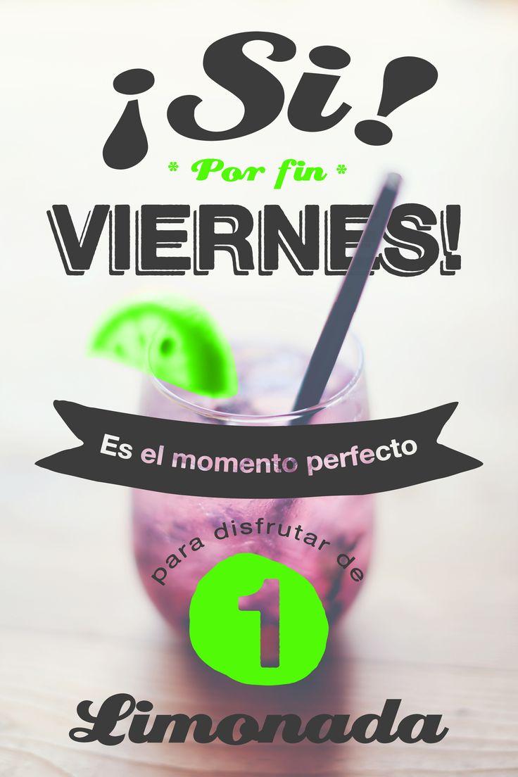 Feliz viernes! A disfrutar el fin de semana con Limonada!  #diseño #grafico #web #limonada #viernes #finde #findesemana