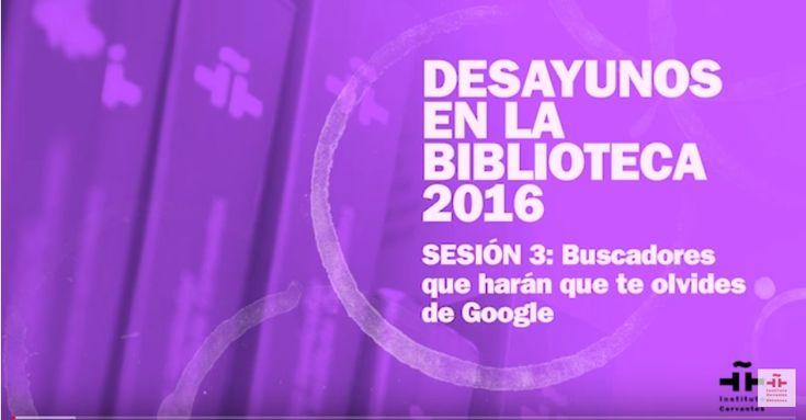Otros buscadores además de Google.. (video)