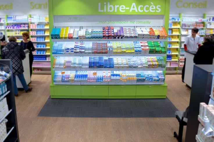 Pharmacies | Showroom JCDA Agencement de la Pharmacie Noury (31)