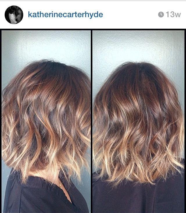 this would look cute on something with Short hair or even long hair! brunette with highlights
