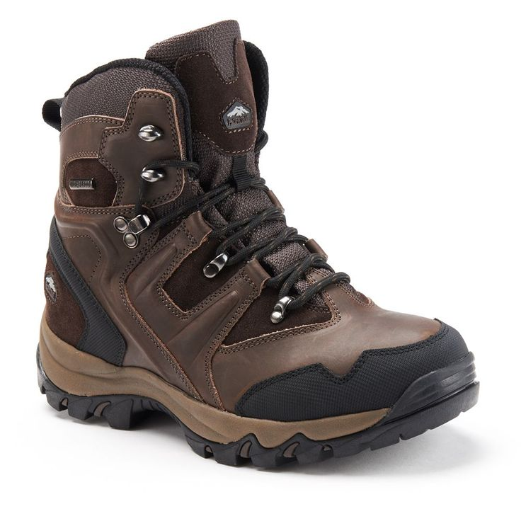 Pacific Trail Denali Men's Waterproof Hiking Boots, Size: 11.5, Brown
