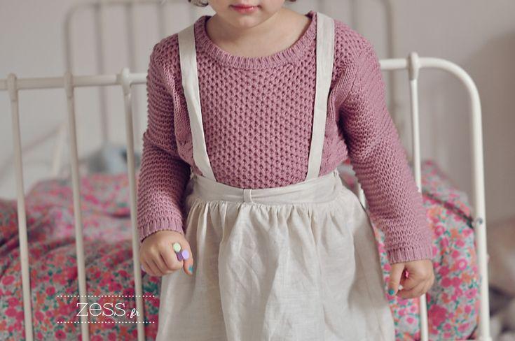 diy couture robe salopette bretelle enfant