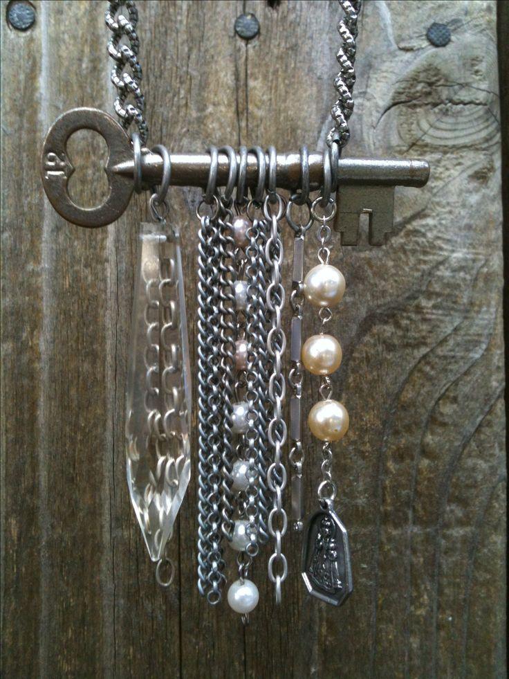 Key Necklace by LjBlock Designs