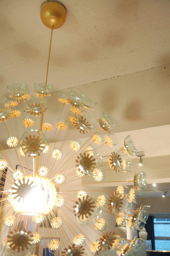 diy sputnik chandelier using an ikea maskros light fixture. Black Bedroom Furniture Sets. Home Design Ideas