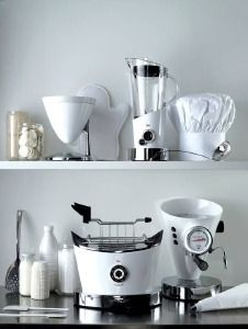 Sprzęt AGD Bugatti to nowa jakość w Twojej kuchni.  Na zdjęciu prezentowana seria w białym kolorze. Dostępne także inne wersje kolorystyczne