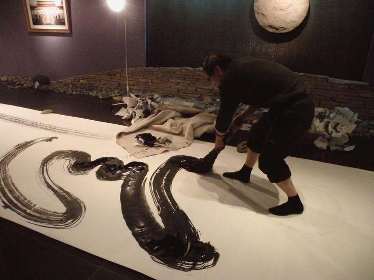 Wang Xu Yuan painting