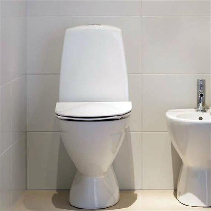 Toalettstol Ifö Sign 6860 - Golvstående toalett - Toalettstolar - Bygghemma.se