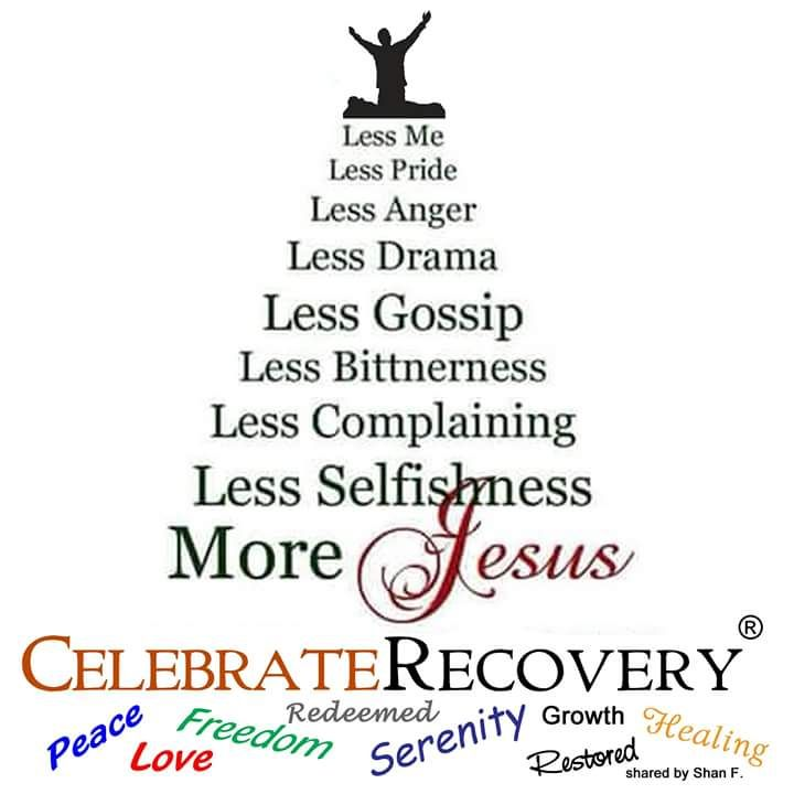 Attend Celebrate Recovery Friday nights