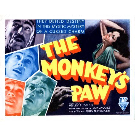 the monkeys paw 2 essay Be careful what you wish for it is a very common warning we have all heard, since wishing our parents to disappear as a child in the monkey's paw,.