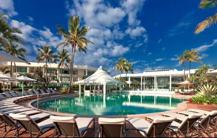 Sheraton Mirage Resort & Spa, Gold Coast, 5 stars.