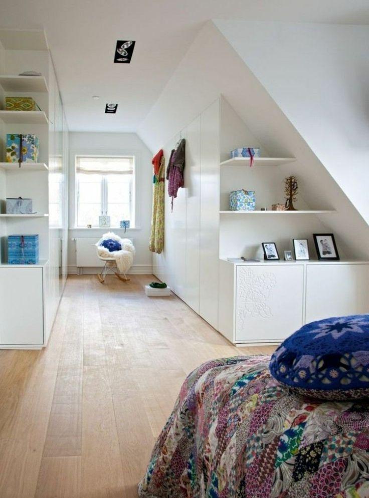Begehbarer Kleiderschrank Dachboden ~ begehbarer Kleiderschrank unter Dachschräge niedrig