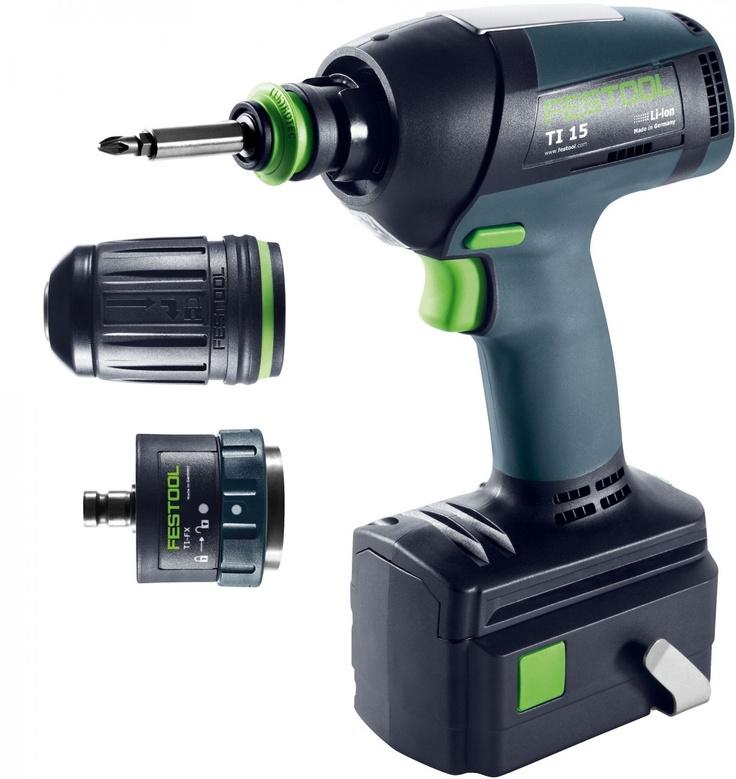 Festool TI 15 Hybrid Impact/Drill Driver SET (564291)
