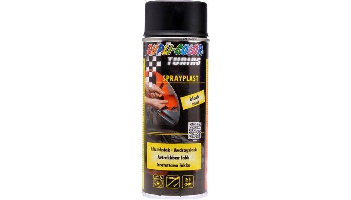 Sprayfolie mat sort 400 ml.