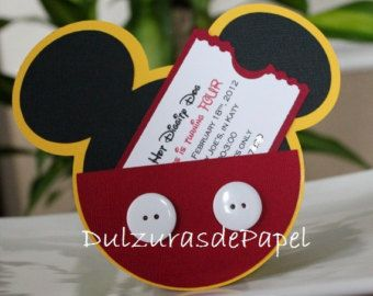 Mickey Mouse Invites ...