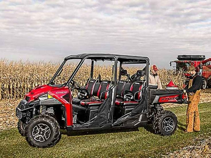 New 2016 Polaris RANGER Crew XP 900-6 EPS Polaris Pursuit ATVs For Sale in North Carolina. 2016 Polaris RANGER Crew XP 900-6 EPS Polaris Pursuit Camo, 2016 Polaris® RANGER Crew® XP 900-6 EPS Polaris Pursuit® Camo Features may include: Hardest Working Features The ProStar® Engine Advantage The RANGER CREW® 900 ProStar® engine is purpose built, tuned and designed alongside the vehicle resulting in an optimal balance of smooth and reliable power. The ProStar® 900 engine was developed…