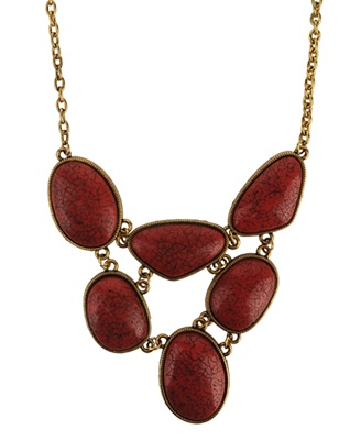Bronw Necklace Forever 21 -
