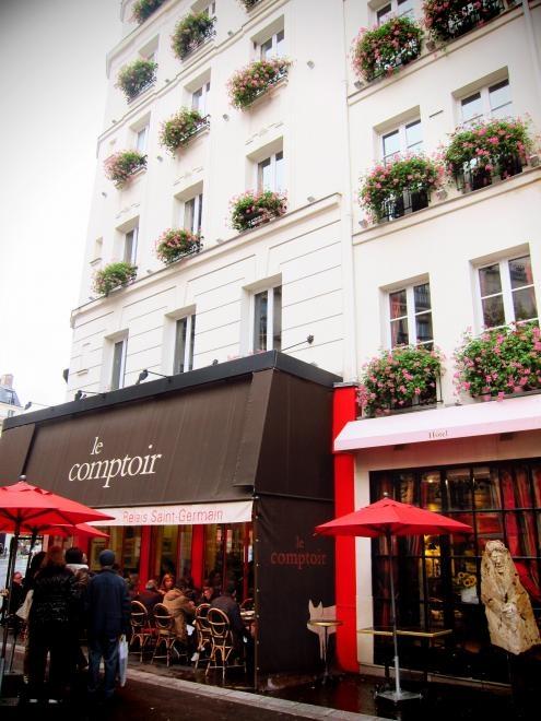124 best flying paris images on pinterest restaurant - Le comptoir du relais restaurant reservations ...