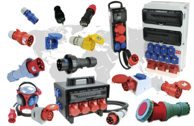 We collaborate with a company specialised in electric plugs and sockets for the industrial sector.