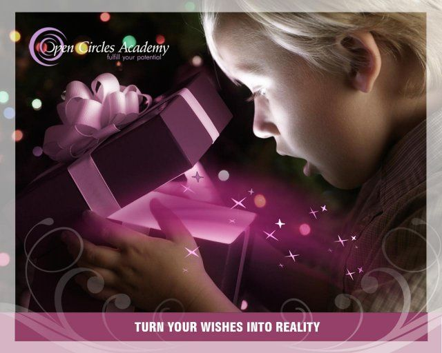 My intention for today is: Turn your wishes into reality
