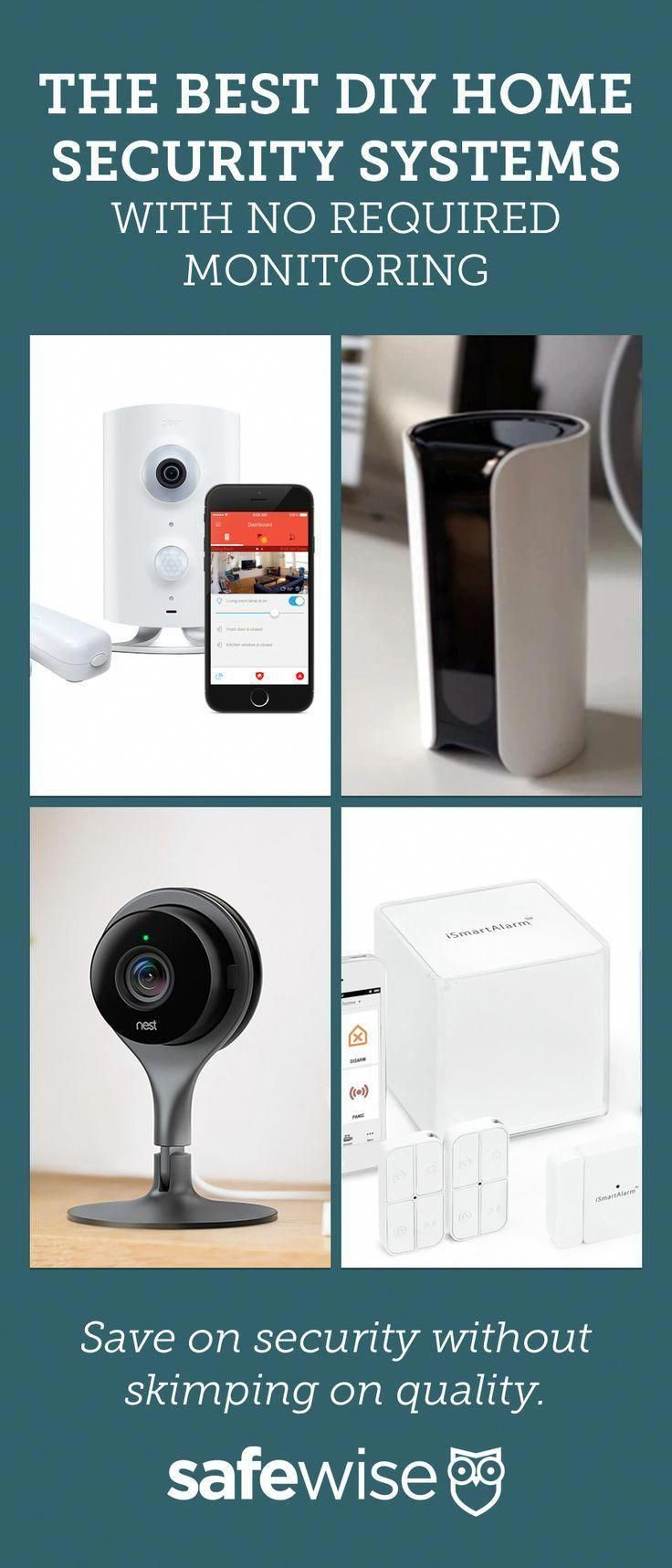 Save On Security Without Skimping On Quality Secure Your Home Affordably With Diy Home Security S Diy Home Security Home Security Tips Alarm Systems For Home