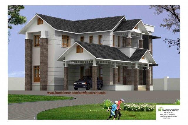2400 sq ft modern kerala home design kerala 2400 sq ft modern kerala home design malvernweather Gallery