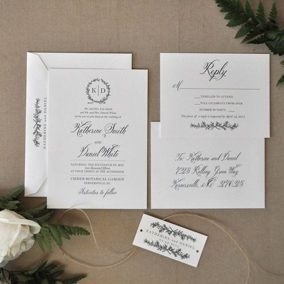 English Garden Wedding Ideas: 1000+ Ideas About Garden Wedding Invitations On Pinterest
