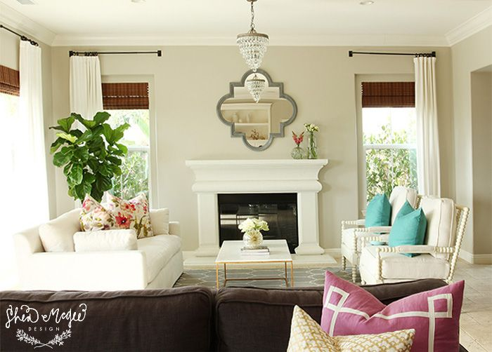 Neutral pops of color shea mcgee design lovely for Neutral decor with pops of color