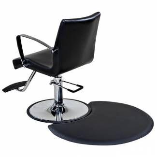 """Tappetino per salone 1/2 """"semicerchio piccolo, sedia"""