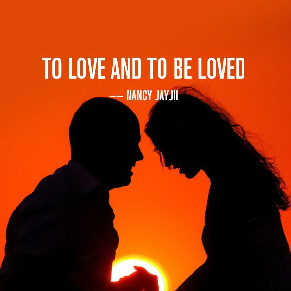 To love and to be loved #Lovetopic