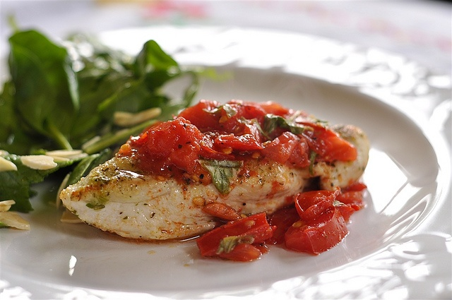 Bruschetta Chicken A great way to use up all those garden tomatoes. @ ...