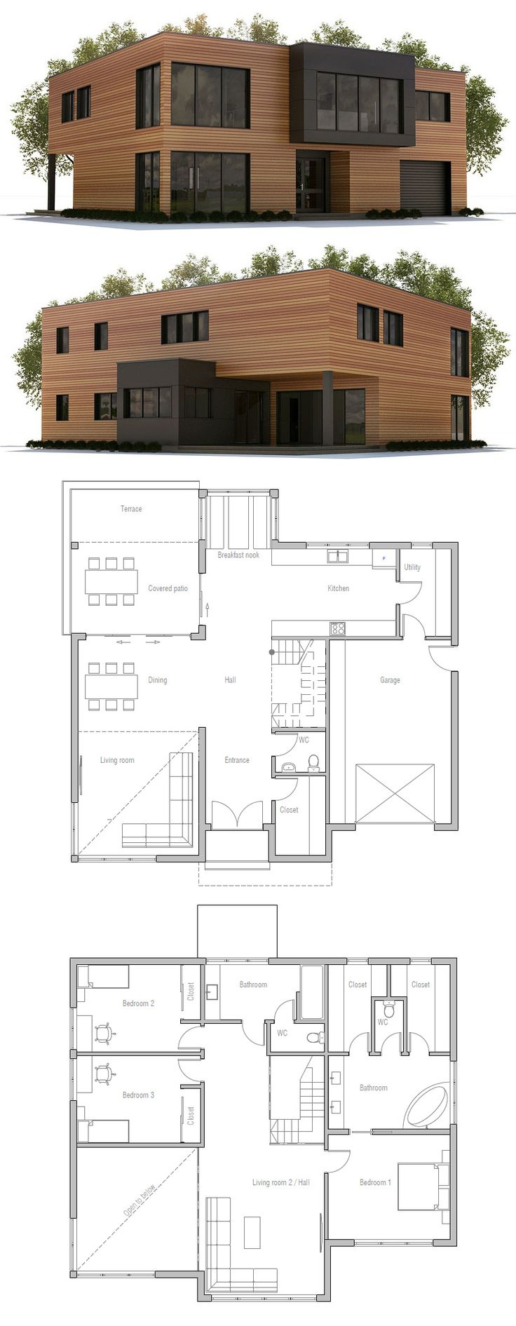 Small House Plan 44 best house images