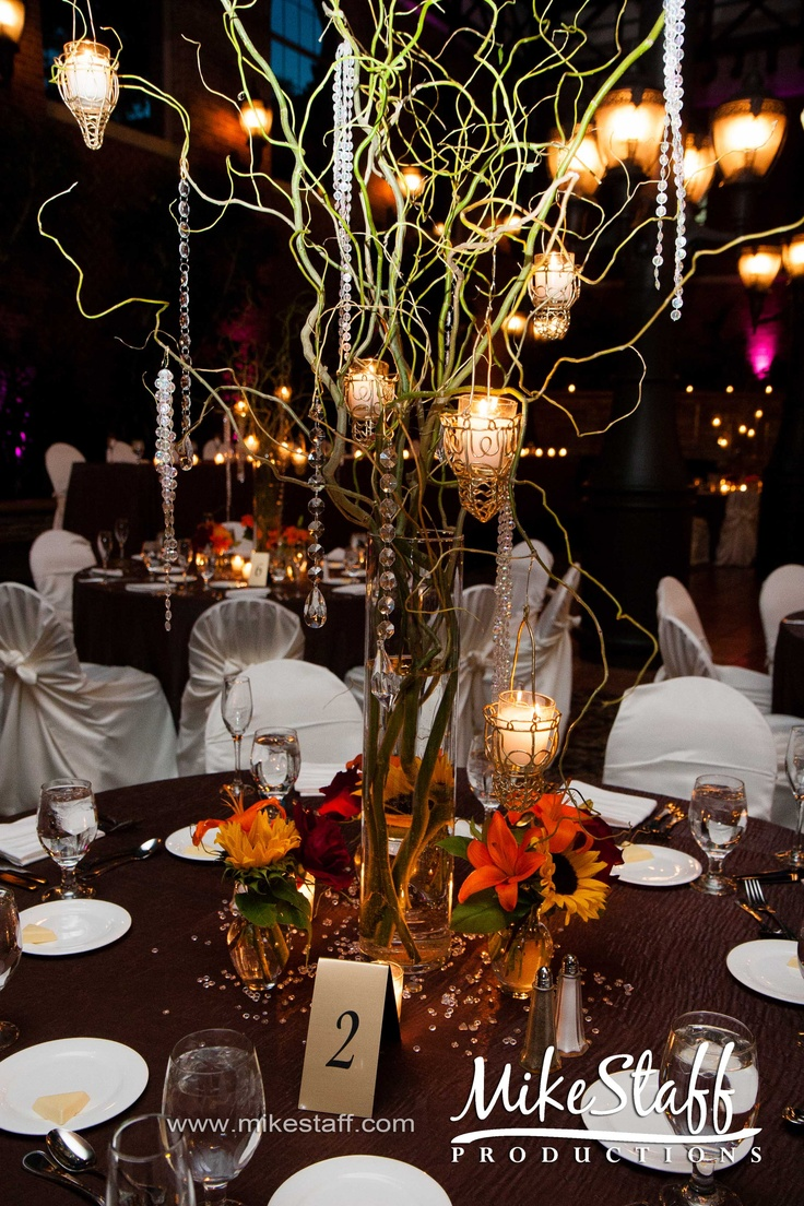 Fall wedding reception decorations   #orange wedding reception ... Wedding ideas for brides, grooms, parents & planners ... https://itunes.apple.com/us/app/the-gold-wedding-planner/id498112599?ls=1=8 … plus how to organise an entire wedding ♥ The Gold Wedding Planner iPhone App ♥