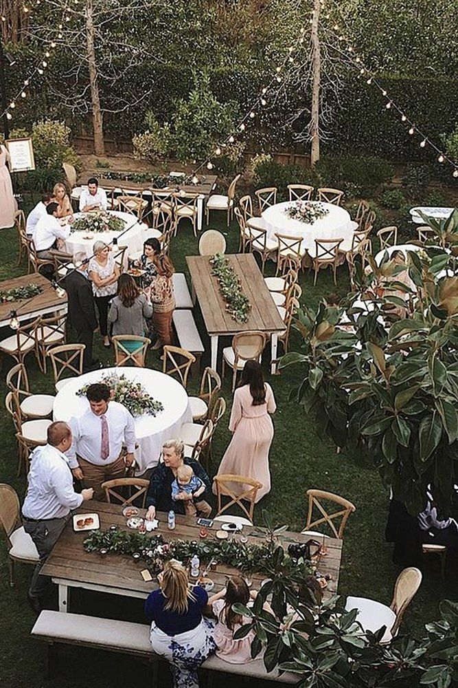 10 Unique Places To Have An Engagement Party Wedding Forward In 2020 Backyard Bbq Wedding Backyard Wedding Dresses Bbq Wedding Reception
