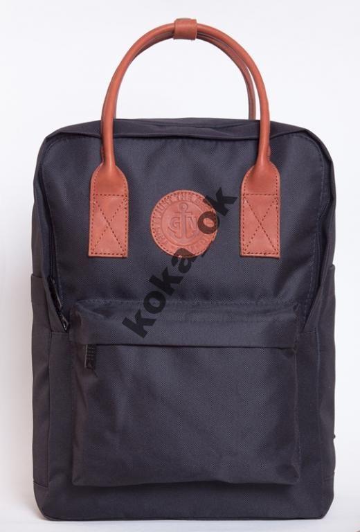 Рюкзак городской молодежный GIN Том Коллинз черный