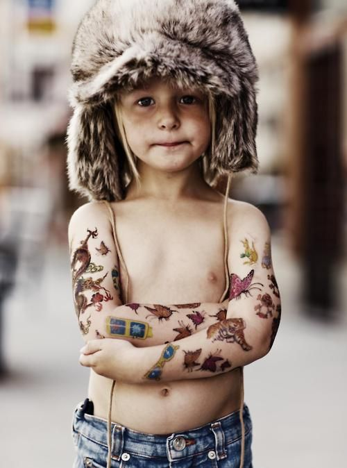 Bad Kid Minirodini #tattoo #kid #enfant