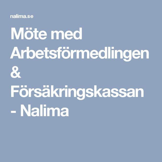 Möte med Arbetsförmedlingen & Försäkringskassan - Nalima