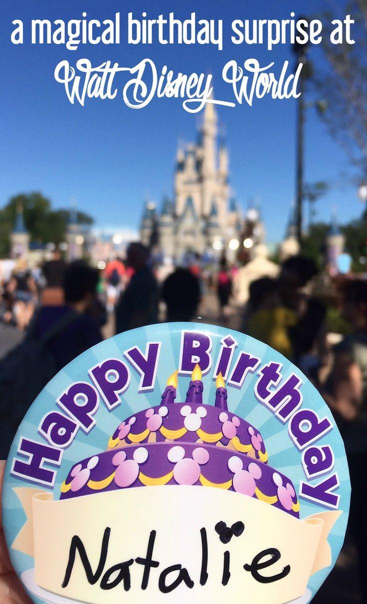 A Magical Birthday Surprise at Walt Disney World | CosmosMariners.com