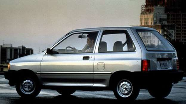 FORD FESTIVA If you've ever had the misfortune of having to drive around with a…