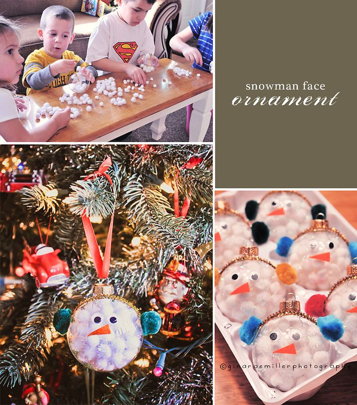 Christmas Bulb Craft Ideas Part - 41: Clear Glass Ornament Idea. Clear OrnamentsOrnaments ...