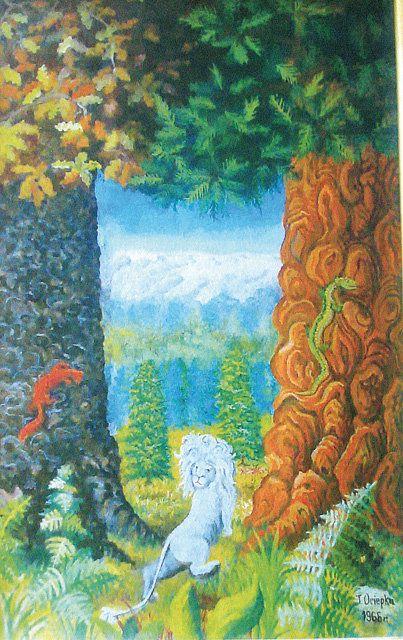 Teofil Ociepka \ Biały lew