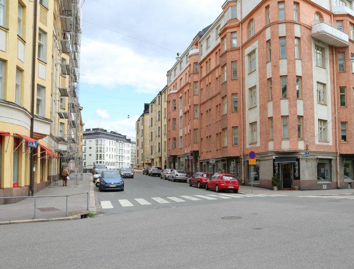 Cygnaeusgatan i Helsingfors