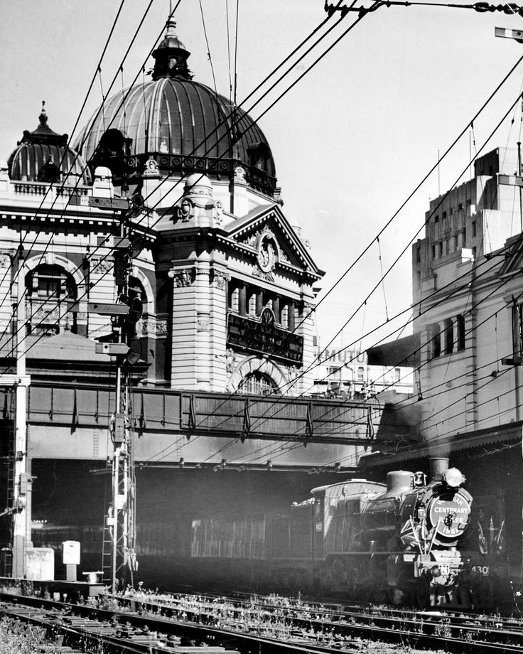 1951. The Centenary-Jubilee train will leave Melbourne today for a tour of Gippsland.