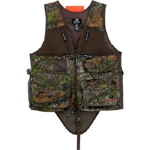 Mossy Oak Camo Turkey Hunting Vest with Built in Seat XLarge Call Pocket NEW #MossyOak