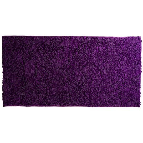 Portsmouth Home High Pile Chenille Solid Shag Rug ($62) ❤ liked on Polyvore featuring home, rugs, purple, chenille rugs, shag pile rugs, plush area rugs, shag rugs and purple area rugs