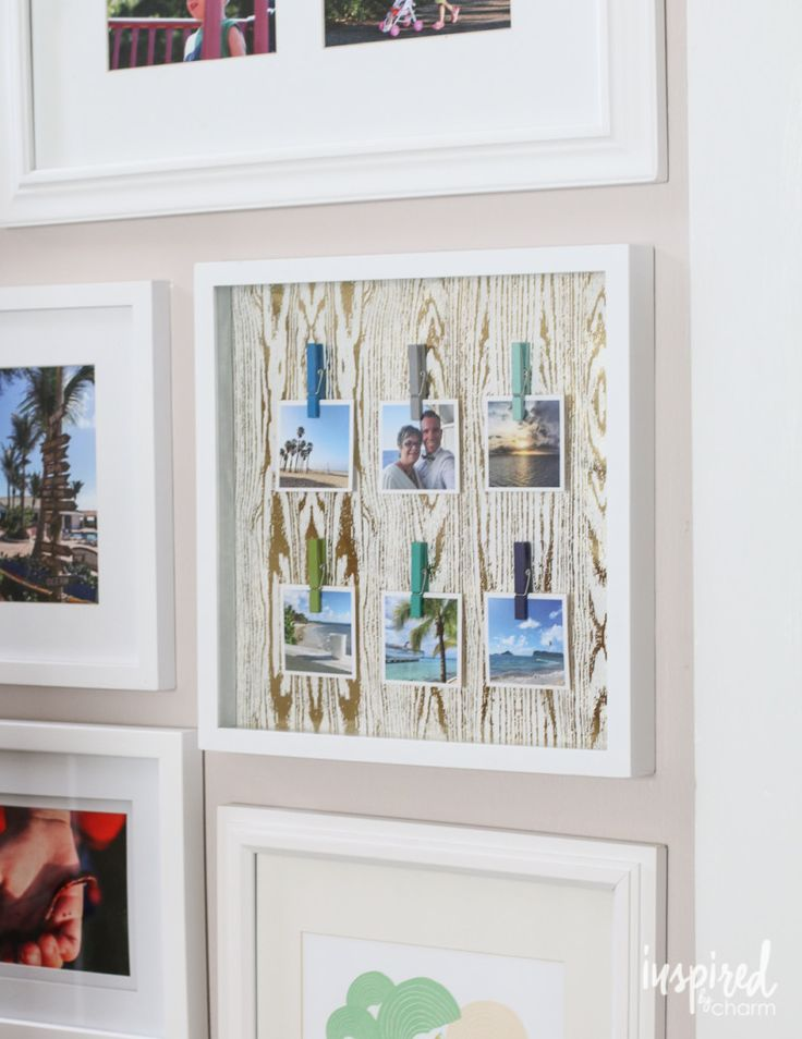 Diy travel photo collage